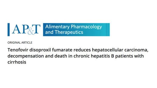 Effectiveness of tenofovir disoproxil fumarate therapy in chronic hepatitis B patients