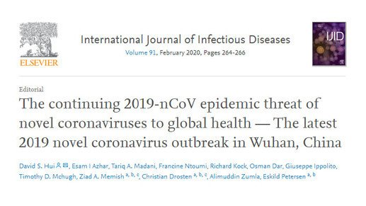 A novel coronavirus epidemic threat to global health