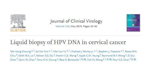 Potential tumour marker for cervical cancer