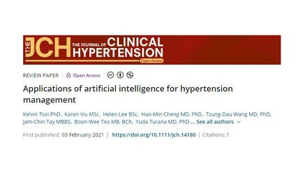 AI applications for hypertension management