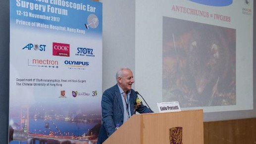 Prof Livio Presutti of University of Modena Speaks at our 2nd Pan-Asia Endoscopic Ear Surgery Forum