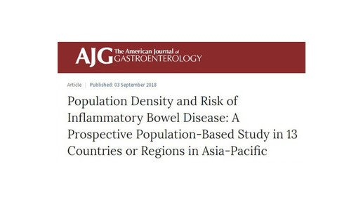 Large scale study on the effects of urbanization on IBD incidence