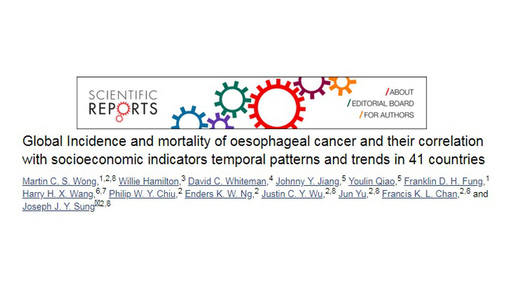 Oesophageal Cancer and Socioeconomic Indicators
