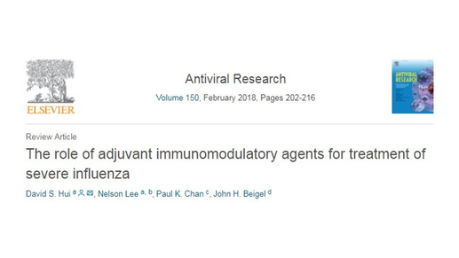 Immuno-modulatory Agents and Adjunctive Therapies for Severe Influenza