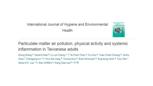 Physical Activity and Exposure to Air Pollution