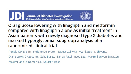 Initial Treatment for Asian Patients Newly Diagnosed with Type 2 Diabetes