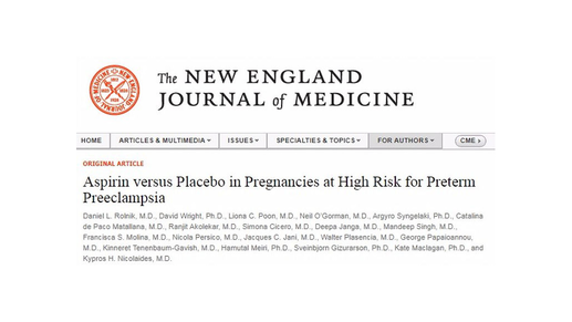 New Study Published In The New England Journal of Medicine