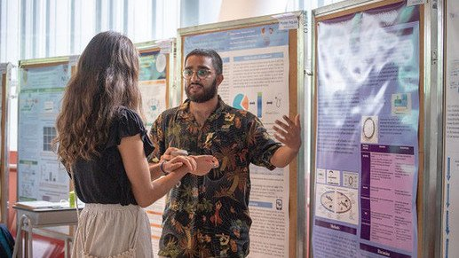 University of Sussex Students join our Summer Undergraduate Research Programme