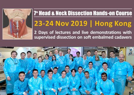 Head & Neck Dissection and Reconstruction Hands-on Course