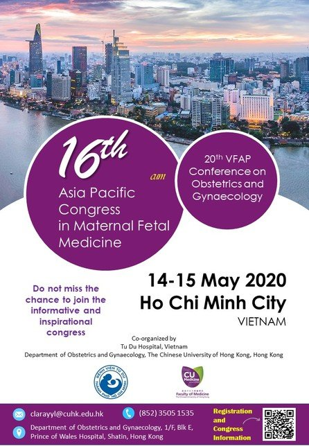 Asia Pacific Congress in	Maternal Fetal Medicine
