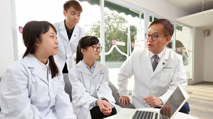 A Close-knit Supportive Learning Environment - CUHK Medicine
