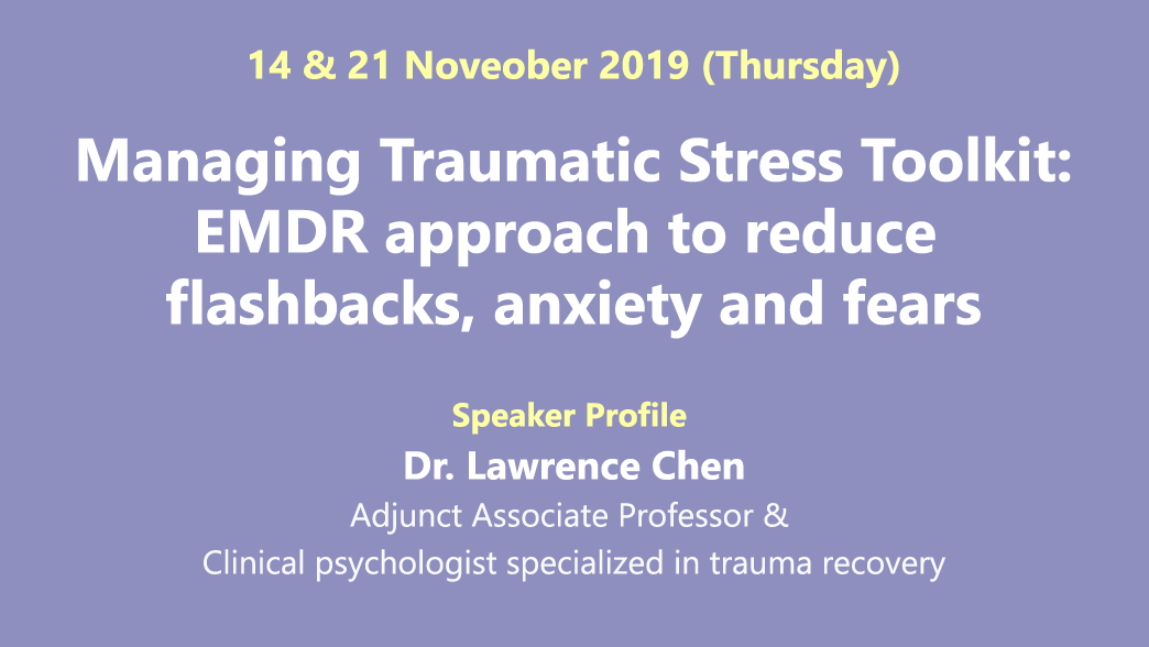 anaging Traumatic Stress Toolkit EMDR approach to reduce flashbacks, anxiety and fears