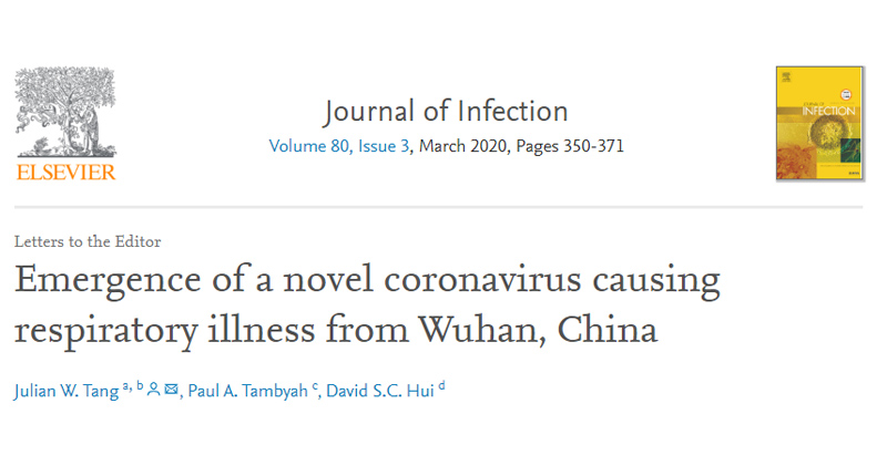 CUMed Research in Journal of Infection