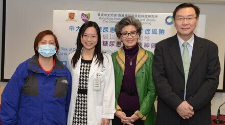 Risk of Diabetes Patients Having Depression Doubles That of the General Public CUHK Advocates Timely Assessment of Diabetes Patients' Mental Health Conditions
