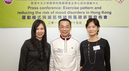 CUHK Survey Reveals Relationship between Exercise Pattern and Emotional Health among Hong Kong People Mind-body Exercise Helps Reduce Risk of Mood Disorders