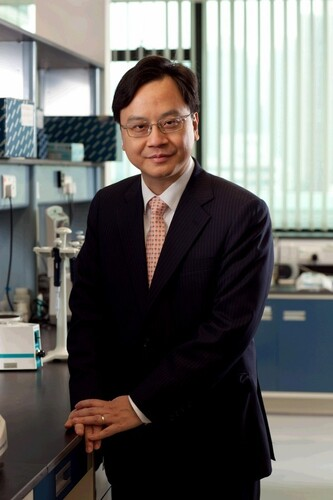 Profesor Dennis Lo Yuk Ming, Director of the Li Ka Shing Institute of Health Sciences