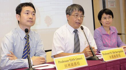 CUHK Green Pioneer Series CUHK Recommends Hong Kong's New Air Quality Objectives Should Not Ignore Coarse Particulate Pollutants