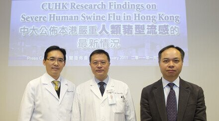 CUHK Research Findings on Severe Human Swine Flu in Hong Kong