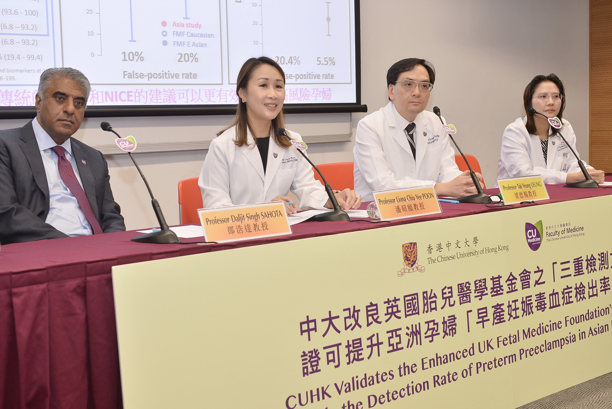 Department of Obstetrics and Gynaecology of the Faculty of Medicine at CUHK
