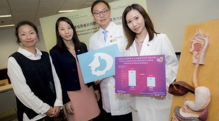 CUHK Study Proves Low-Dose Tricyclic Antidepressant (TCA) Effective in Treating Patients with Refractory Functional Dyspepsia