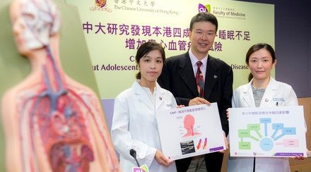 CUHK Study Sees Shorter Sleep Put Adolescents at Risk of Future Cardiovascular Diseases
