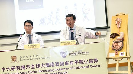 CUHK Study Sees Increasing Global Incidence of Colorectal Cancer Among Younger People