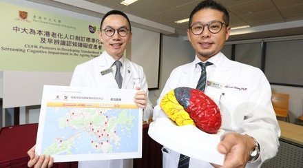 CUHK Pioneers in Developing Standardised Tests for Screening Cognitive Impairment in the Ageing Population in Hong Kong