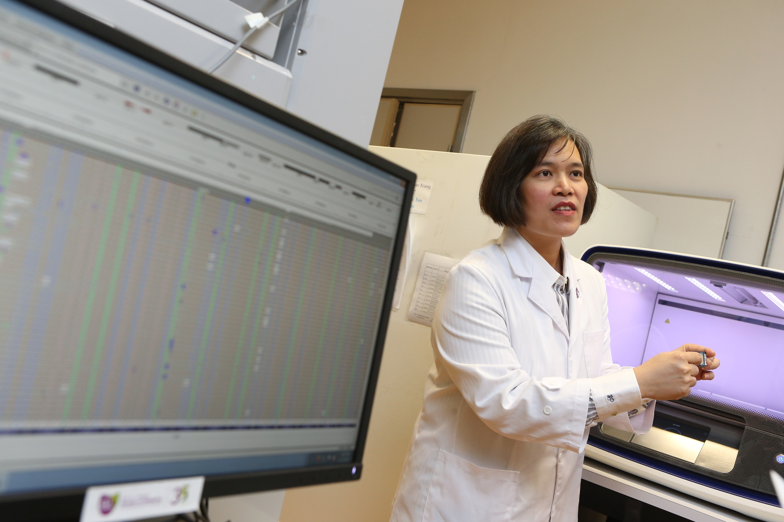 Professor LUI wants to promote the use of multi-gene pharmacogenomics analysis for Hong Kong ovarian cancer patients to help identify tumour DNA events that may guide precise drug choice efficiently.