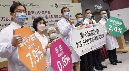 "Results of the First 3,500 Participants of the CUHK Jockey Club Multi-Cancer Prevention Programme Demonstrate that ""One-stop Multi-Cancer Screening"" is Effective"