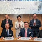 CUHK Deepening Ties with World Leading Institutes for Transdisciplinary Medical Robotics Research to Reshape the Future of Diagnosis and Treatment