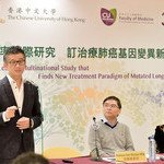 CUHK Leads a Multinational Study that Finds New Treatment Paradigm of Mutated Lung Cancer