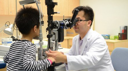 CUHK Launches Vision Screening for Hong Kong Children