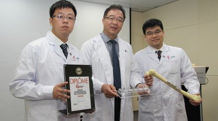 CUHK Introduces New Material for Osteoporosis-related Bone Fracture Effectively Reduces Healing Time and Enhances Bone Strength Both by 30%