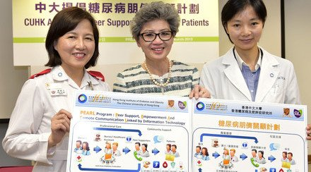 CUHK Study Reveals Peer Support Can Reduce Hospital Admission of Distressed Diabetes Patients