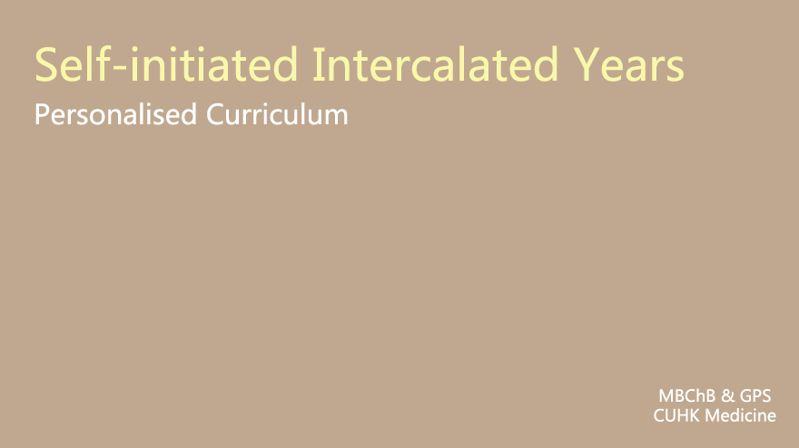 Self-initiated_Intercalated_Years